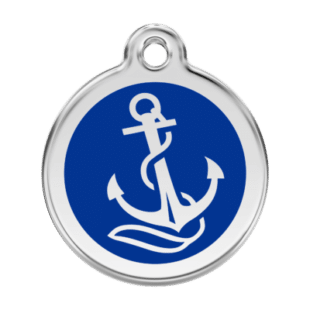 Anchor Pet Tag by Red Dingo