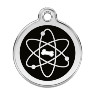 Atom Pet Tag by Red Dingo