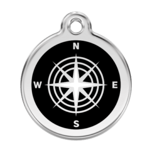 Compass Pet Tag by Red Dingo