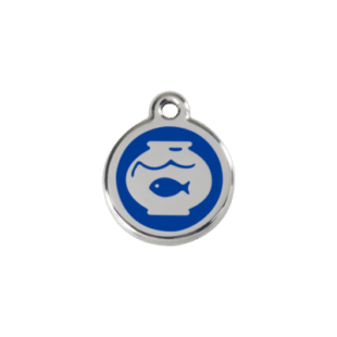 Fish Bowl Pet Tag by Red Dingo