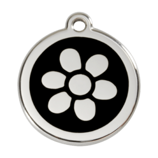 Flower Pet Tag by Red Dingo