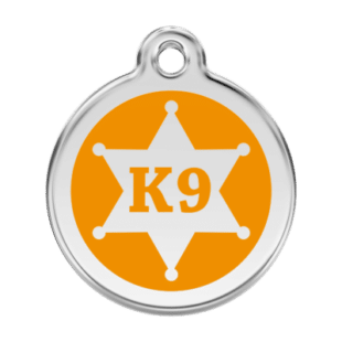 K9 Sheriff Pet Tag by Red Dingo