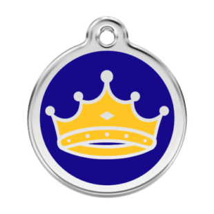 King Pet Tag by Red Dingo