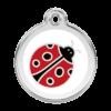Ladybug Pet Tag by Red Dingo