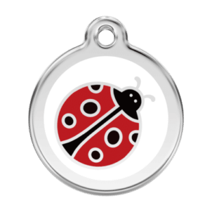 Ladybug Pet Tag by Red Dingo