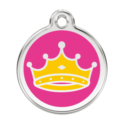 Queen Pet Tag by Red Dingo