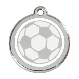 Soccer Ball ID Pet Tag