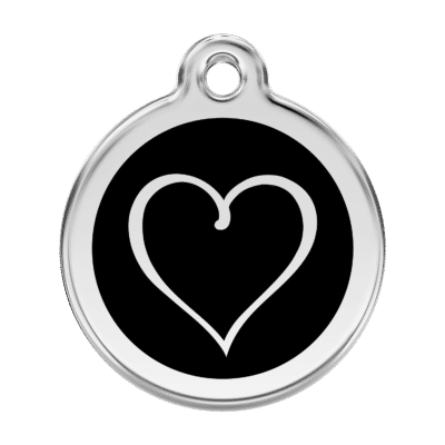 Tribal Heart Pet Tag by Red Dingo