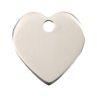 Heart ID Pet Tag