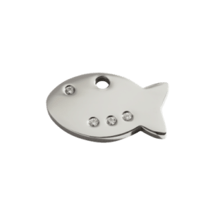Fish ID Dog Tag